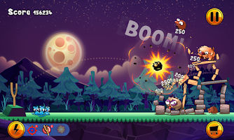 Screenshot of Angry Cats