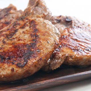 Cider Grilled Pork Chops