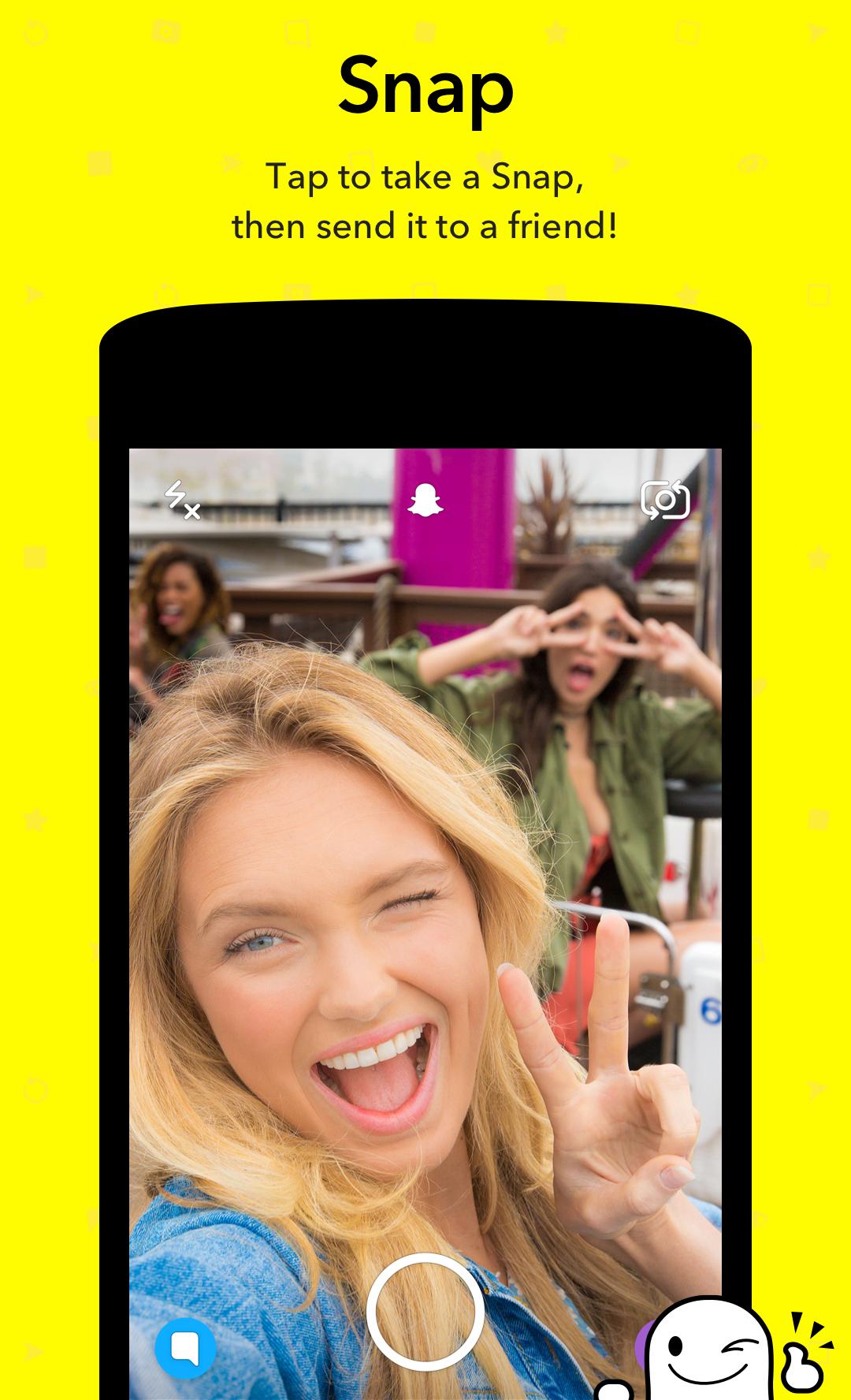 Snapchat screenshot #1