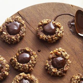 Chocolate Thumbprint Cookie.