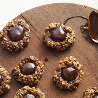 Chocolate Thumbprint Cookie.