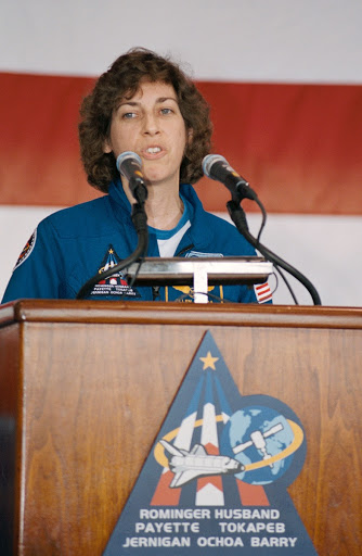 STS-96 crew return ceremony at Ellington Field, June 7, 1999