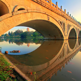 Emperor Bridge by Alit  Apriyana - Buildings & Architecture Bridges & Suspended Structures
