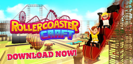 Roller Coaster Craft: Blocky Building & RCT Games - by Fat Lion