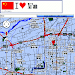 Xi'an map Icon