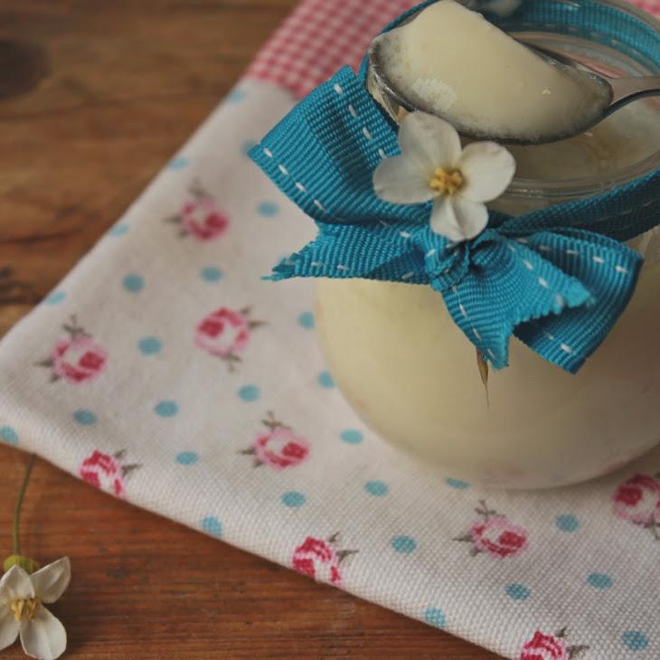 Green Tea and Japanese Cherry Yogurt Recipe
