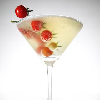 tomato consommé martini.