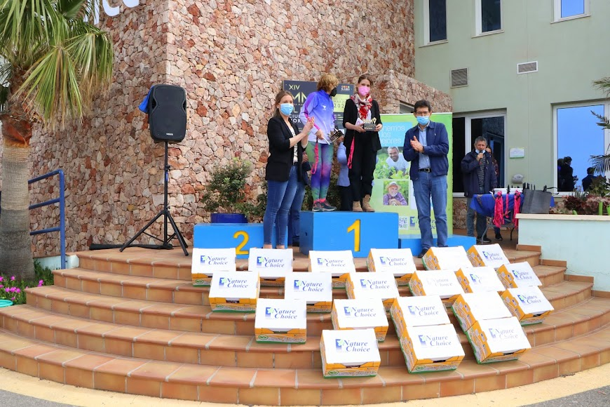 Entrega de premios de la XIV Media Maratón El Ejido.