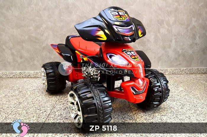 Xe moto điện trẻ em 4 bánh ZP-5118 3