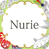 NurieーJapanese Coloring flower,animal,mandala