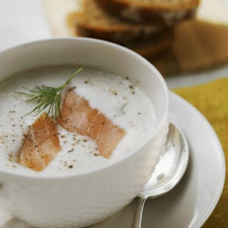 Creamy Smoked Salmon and Potato Soup