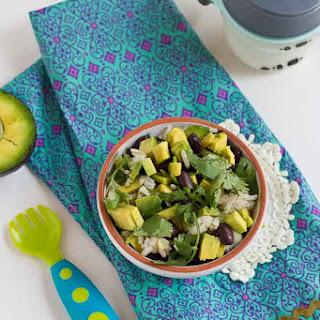 Vegetarian Baby Burrito Bowls