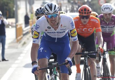 Storm teistert renners na aankomst in Dauphiné: rug van Tim Declercq staat vol rode bollen