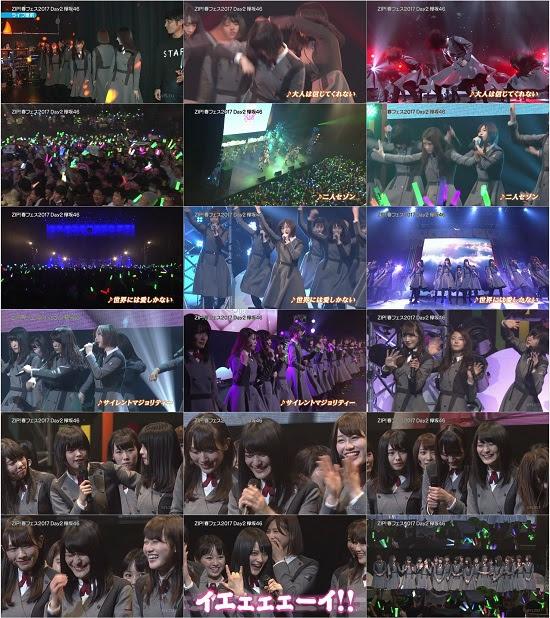 (TV-Music)(720p) 欅坂46 Part – ZIP! 春フェス 2017 170429