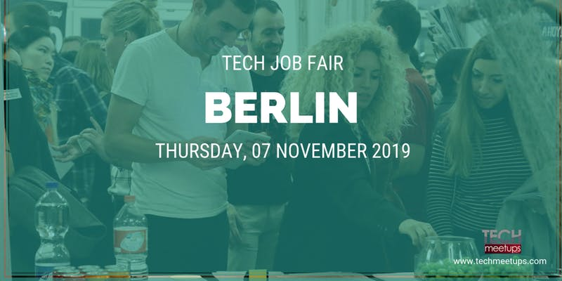 JOIN BERLIN TECH JOB FAIR 2019