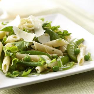 Lemony Spring Peas and Pasta Salad Recipe