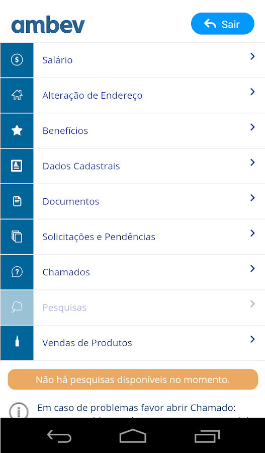 Ambev Gente+- screenshot