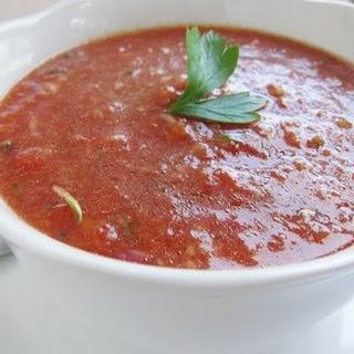 Cold Tomato Soup.