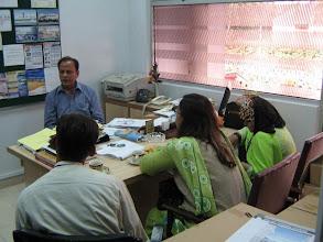 Photo: Building Cooperation bonds at concluding meeting with Director ZVMG Rangoonwala, SCOPE, SEF CDC & LC Karachi on International Wetland Day, Feb 02, 2008
