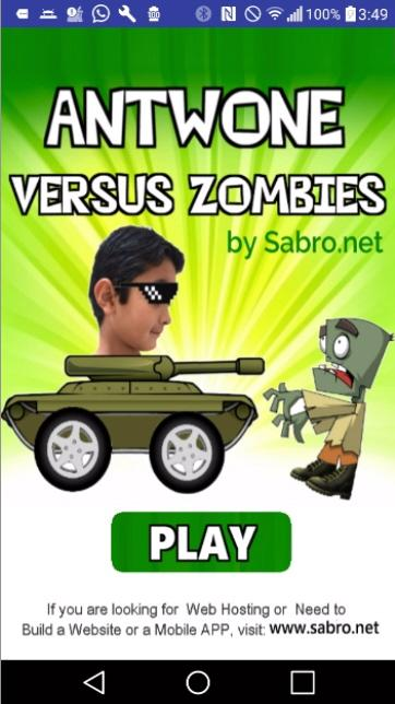 Antwone vs. Zombies- screenshot
