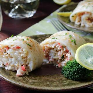 Crab Stuffed Whitefish.