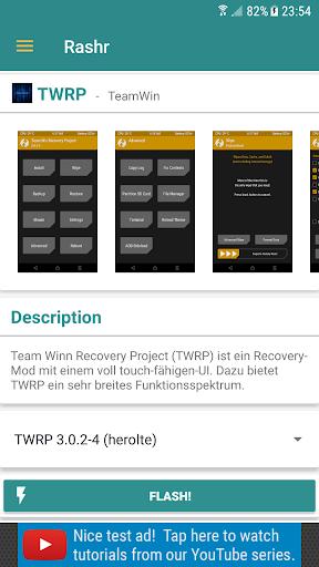 [ROOT] Rashr - Flash Tool screenshot