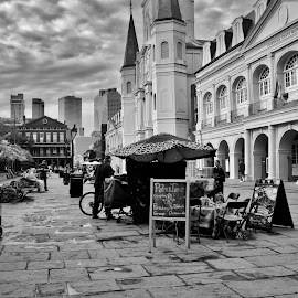 Jackson Square. Nola by Tiffany Matt - City,  Street & Park  Historic Districts