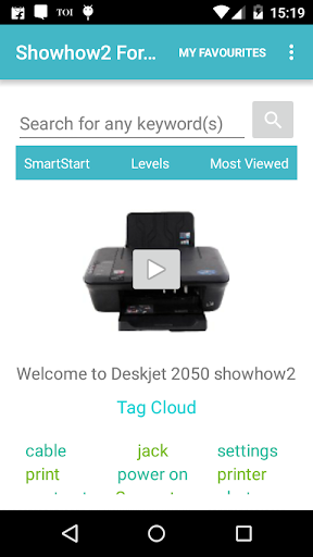 Showhow2 for HP DeskJet 2050