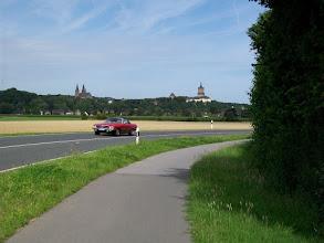 Photo: 1e Dag, donderdag 16 juli 2009 Duiven - Meerbush ,Dag afstand: 105 Totaal gereden : 106 km. Zicht op Kleef