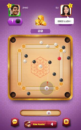 Carrom Friends : Carrom Board Game  captures d'écran 2