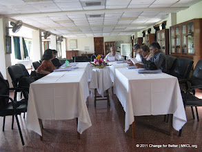 """Photo: Eminent thinkers from various parts of India met at Panchgani, Mahabaleshwar near Pune to discuss on Change for Better, a quarterly thought journal with a motto """"Better World Through Better People""""."""