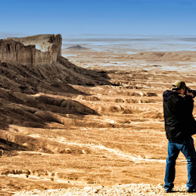 photographer in action by Aries Quiambao - Novices Only Landscapes
