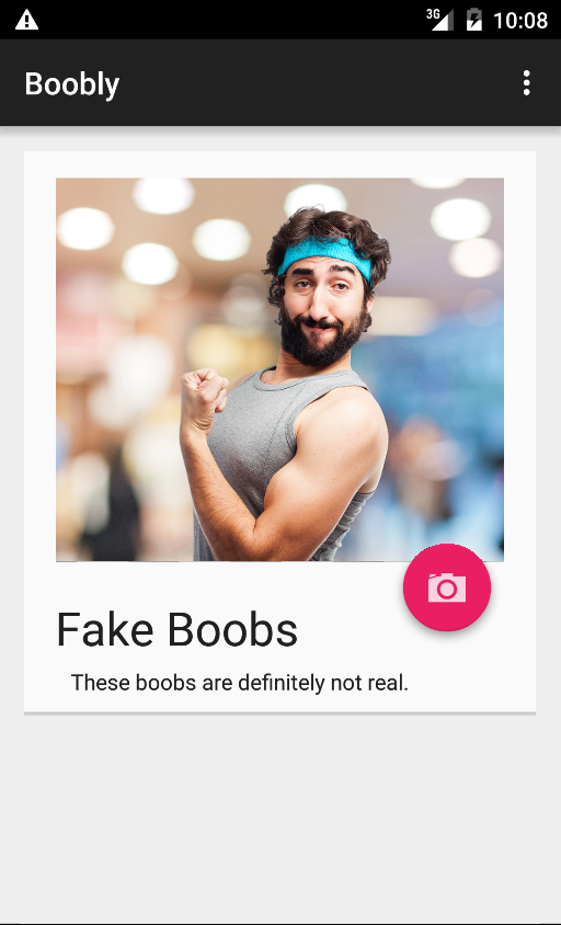 Boobly - Fake Boobs Detector- screenshot