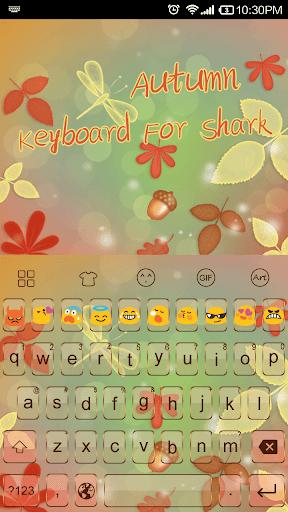 Emoji Keyboard-Love Autumn