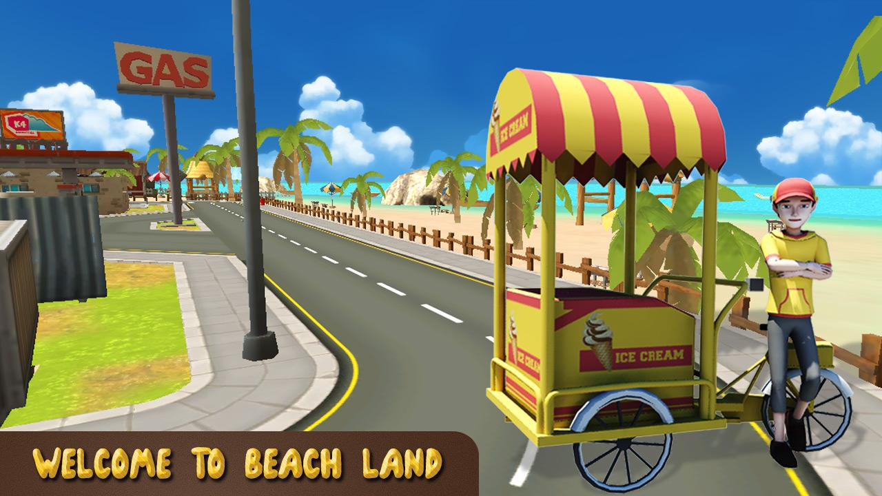 Beach Ice Cream Delivery- screenshot