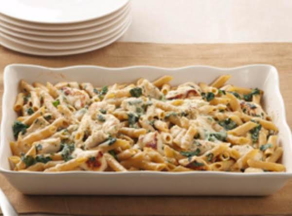 Chicken Penne Bake Recipe