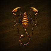 Desert Scorpion Atom Theme