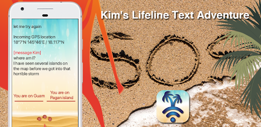 Alt image KIMs Lifeline: Creepy texts travel text adventure