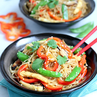 Stir Fried Vermicelli Noodles.