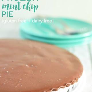 Frozen Mint Chip Pie