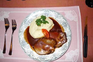 Photo: Ein ganz einfaches Fleischmenü