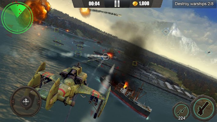 Gunship War:Total Battle Screenshot Image