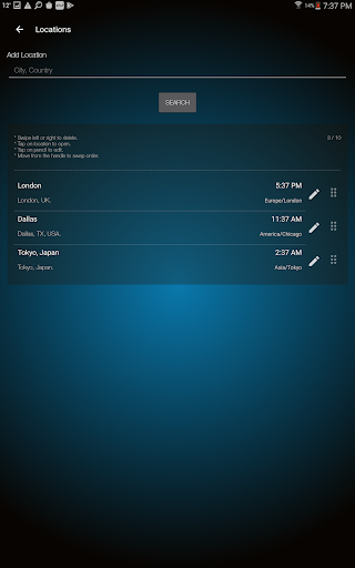 Weather Advanced for Android 1.0.4.6 Screenshots 9