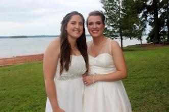 Photo: Lesbian Elopement on Lake Hartwell in Anderson, SC.   http://WeddingWoman.net