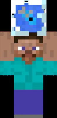 Fish bowl nova skin for Minecraft fish skin