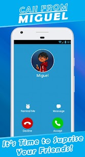 Fake Call From Miguel - náhled