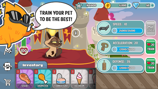 Pets Race - Fun Multiplayer PvP Online Racing Game 1.1.17 screenshots 4