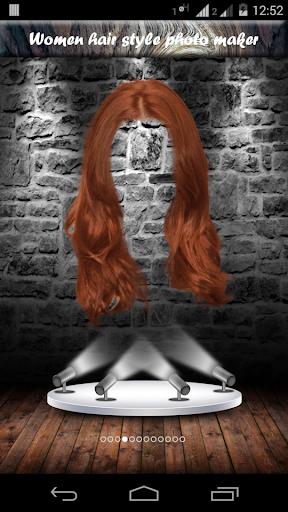 Women hair style photo maker
