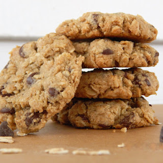 Double Oatmeal Chocolate Chip Cookies.