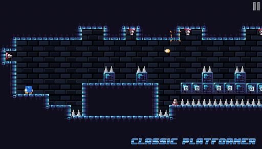 Code Triche Blu Escape - Hardcore Platformer (Free) APK MOD screenshots 5